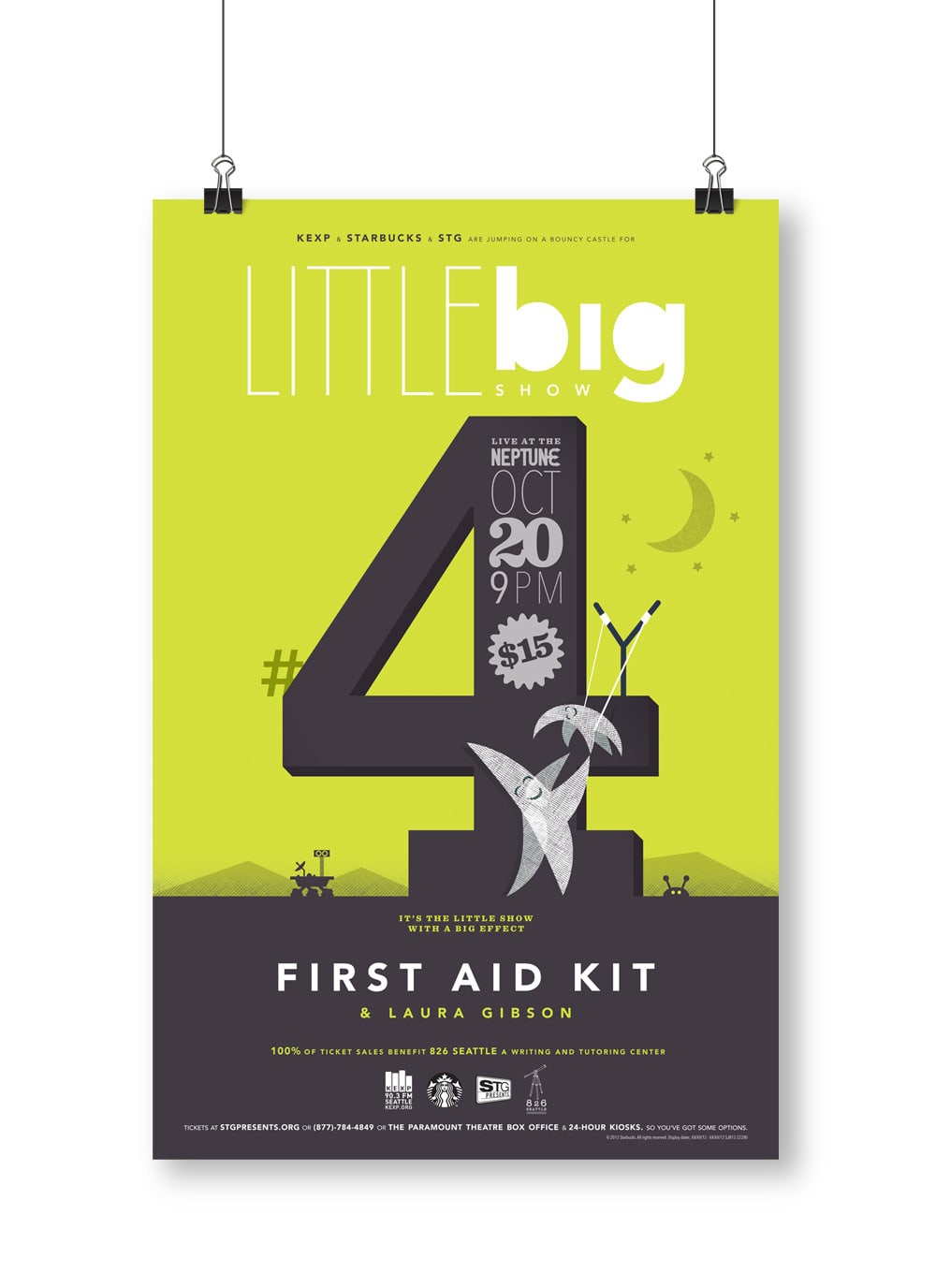 Little Big Show Gig Posters