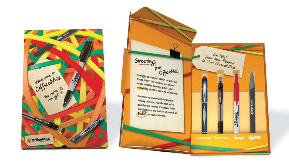 OfficeMax Corporate Welcome Kit