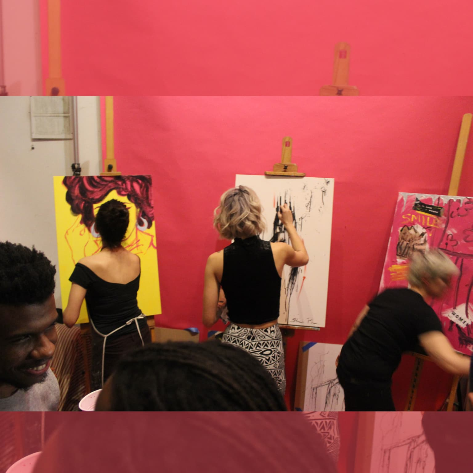 Battlefield: Art Show for Planned Parenthood Action Fund