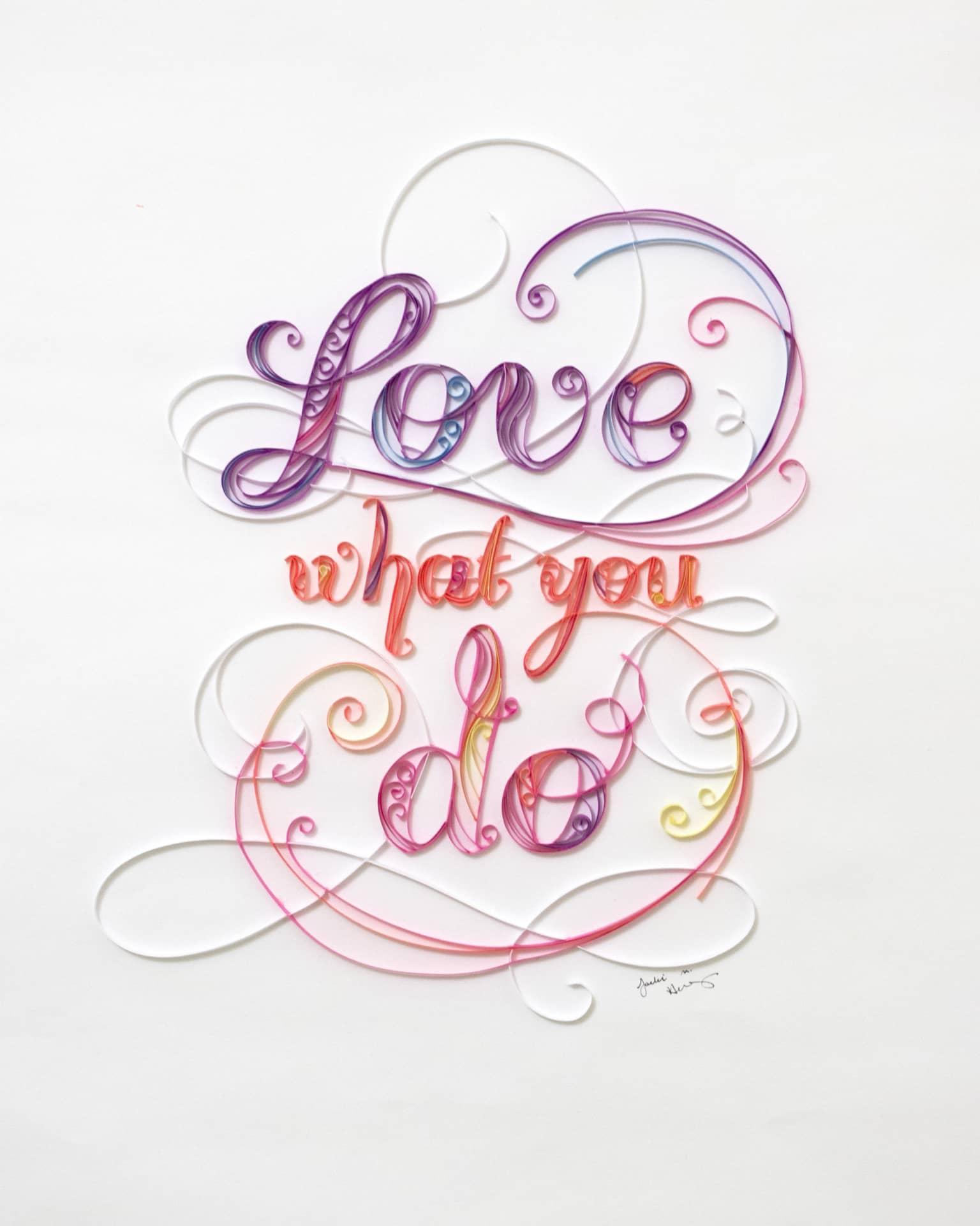 Do What You Love/Love What You Do