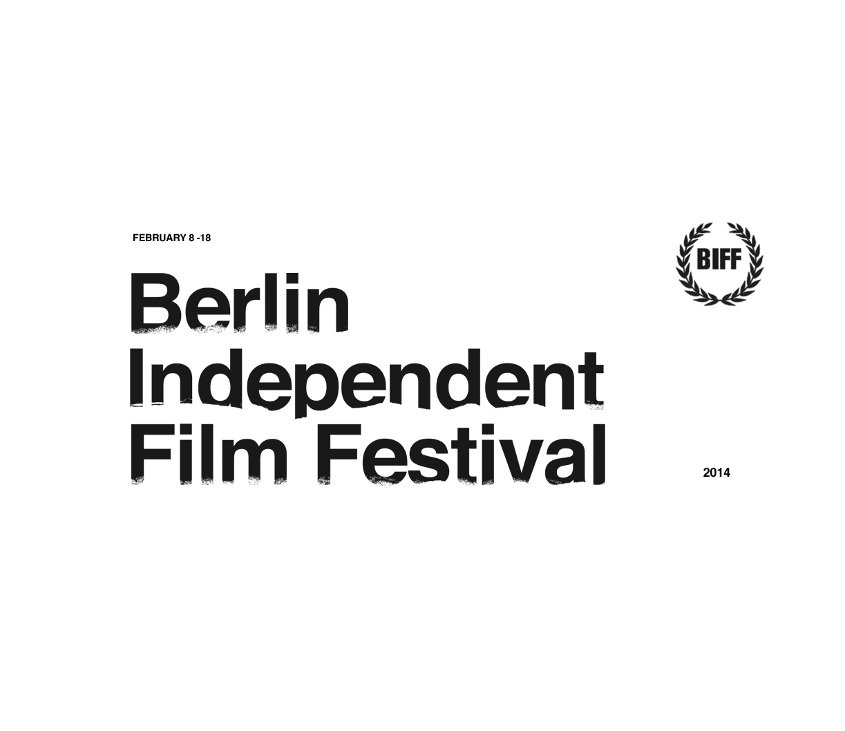 Art/Brand proposal for Berlin Independent Film Festival