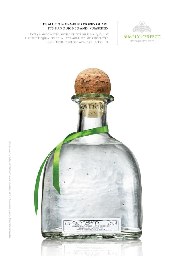 """Patron """"Simply Perfect"""""""