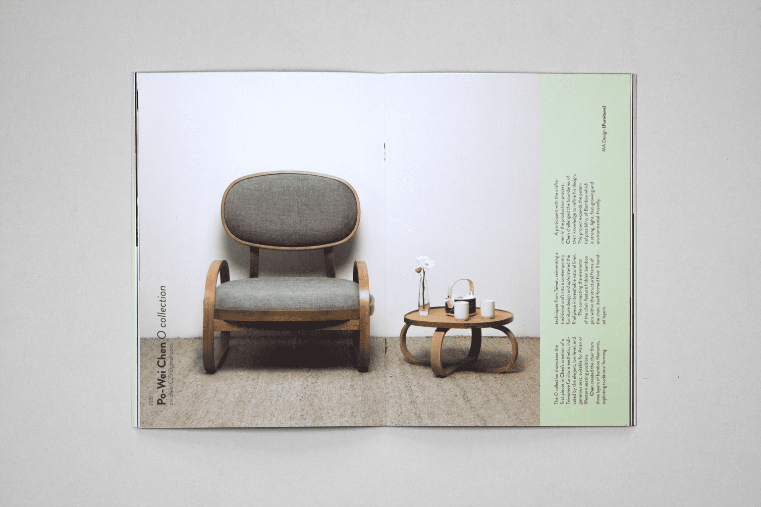 Exhibtion Catalogue for Central Saint Martins Degree Show