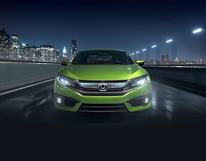 Civic Coupe Vehicle Landing Page