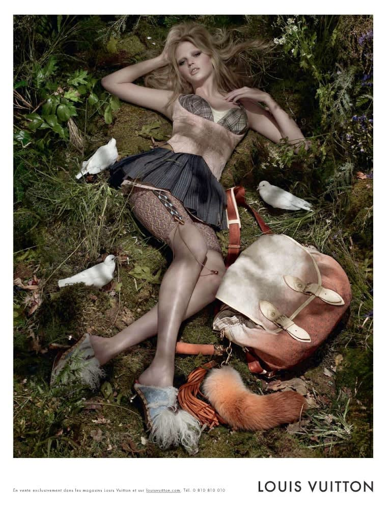 Louis Vuitton feat. Lara Stone