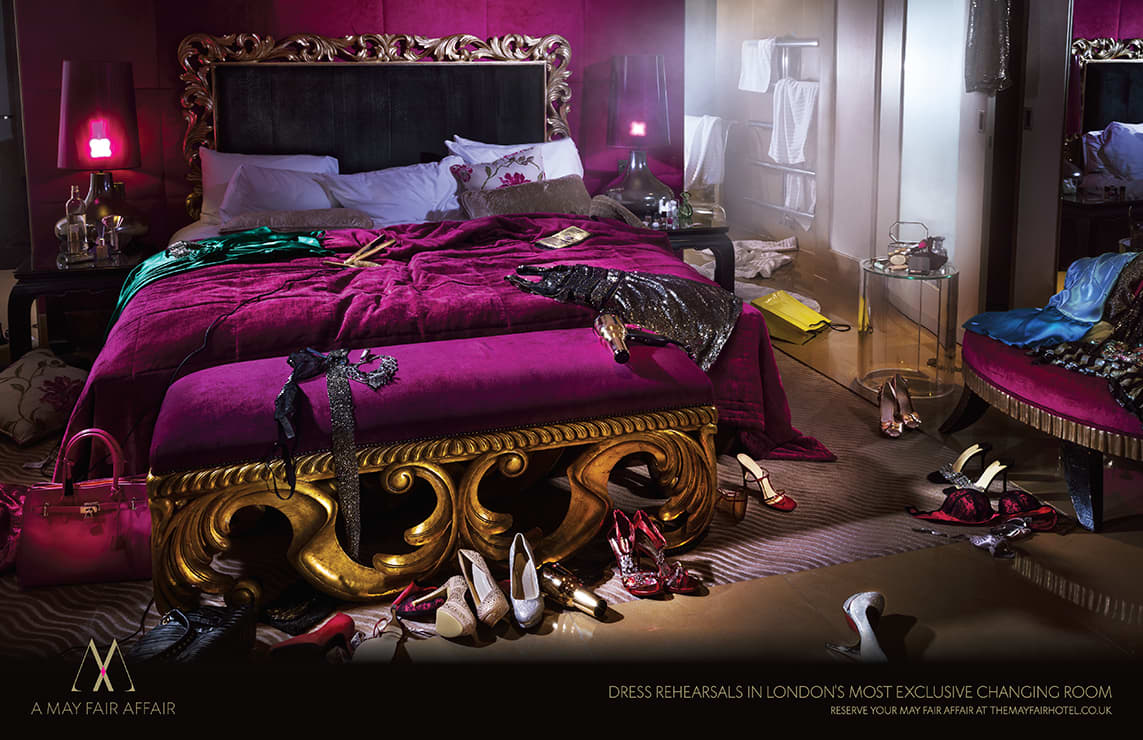Mayfair Hotel Print Campaign