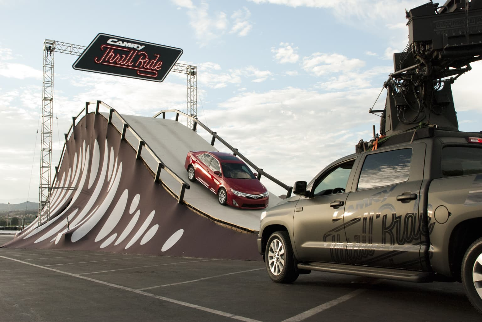The Camry Thrill Ride