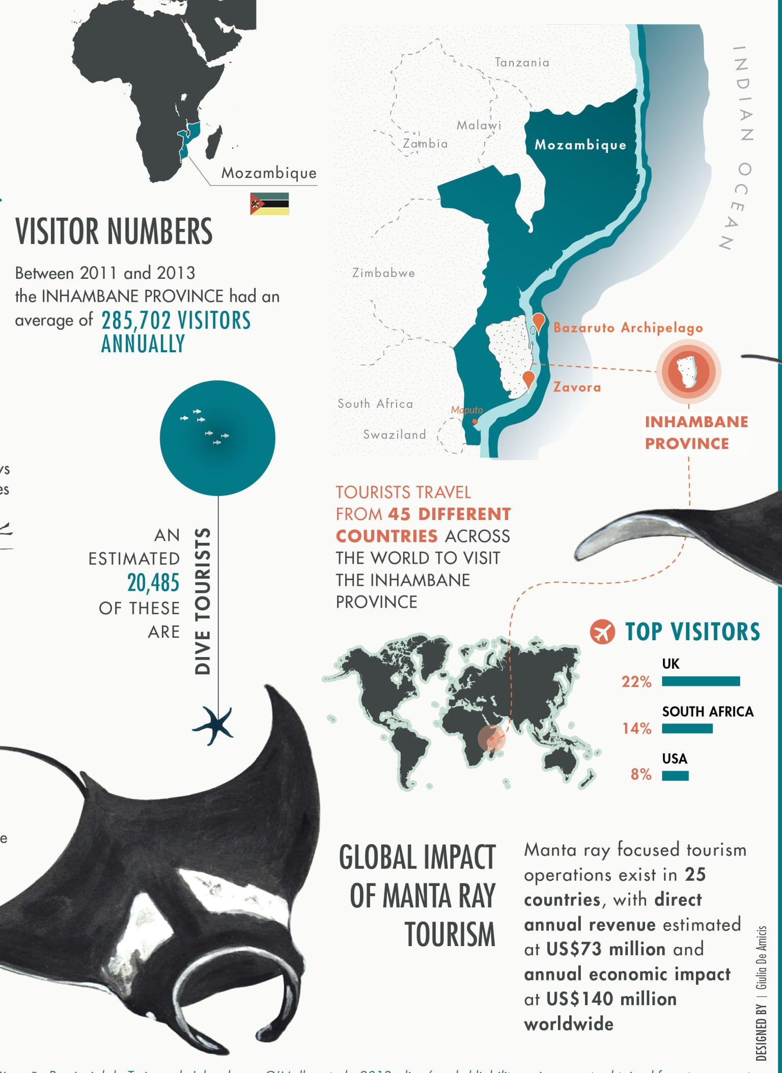 A Giant opportunity / Manta ray of Mozambique