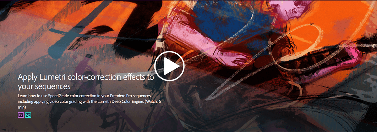 Adobe Creative Learning Content