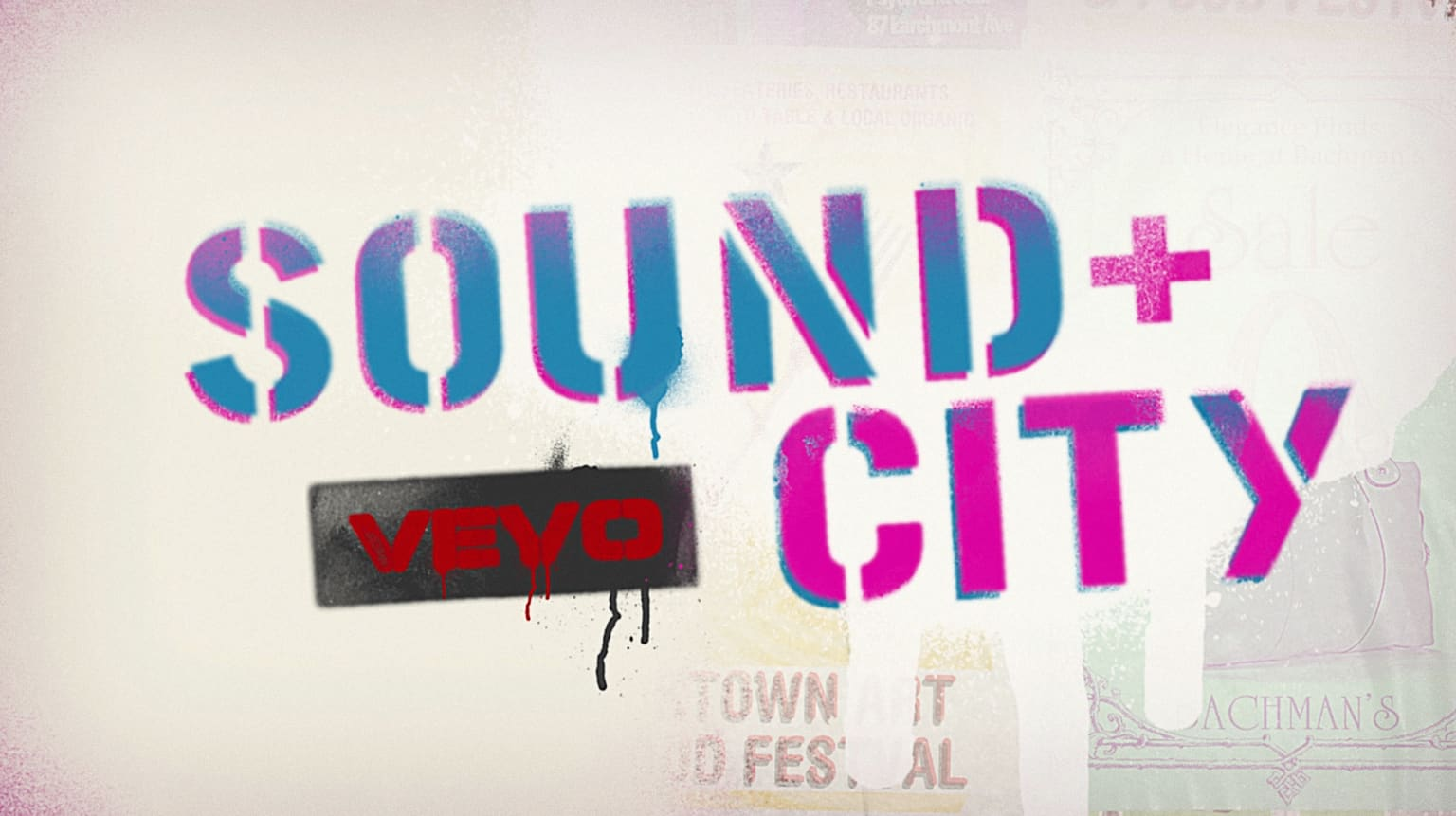 Sound + City, Title Design