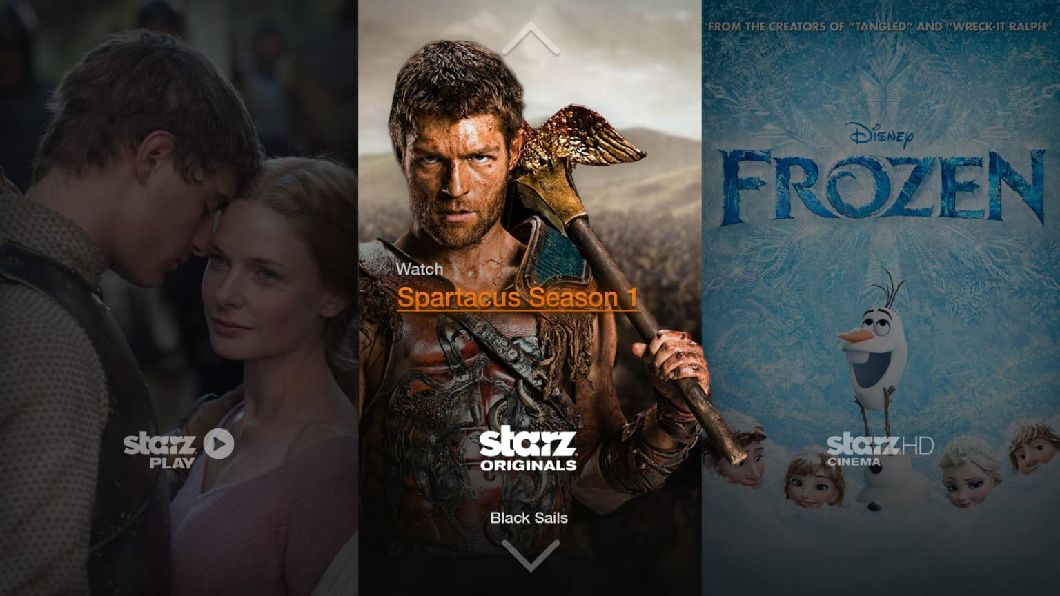 Starz TV App for Amazon Fire