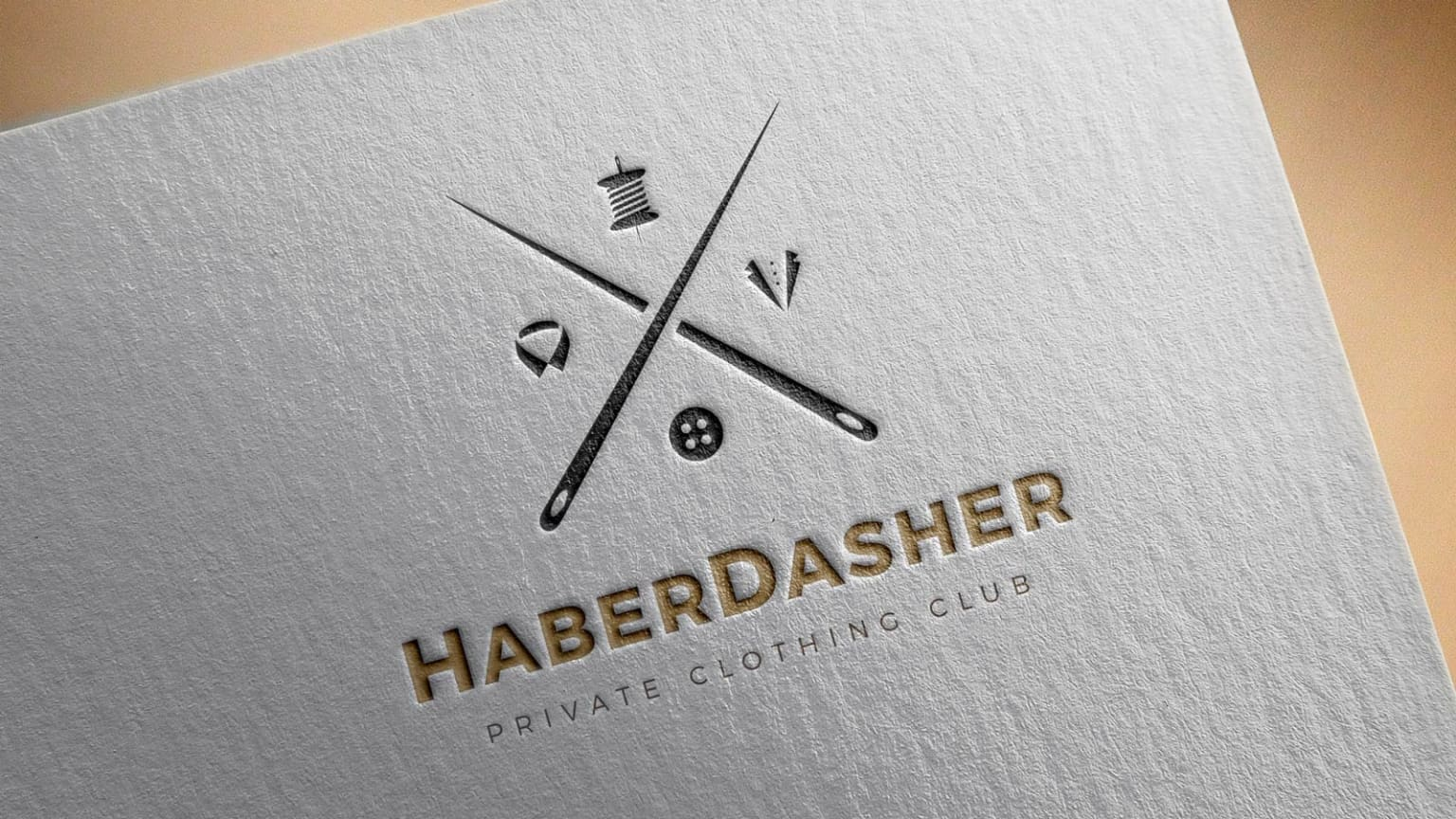 HaberDasher Private Clothing Club Brand Identity