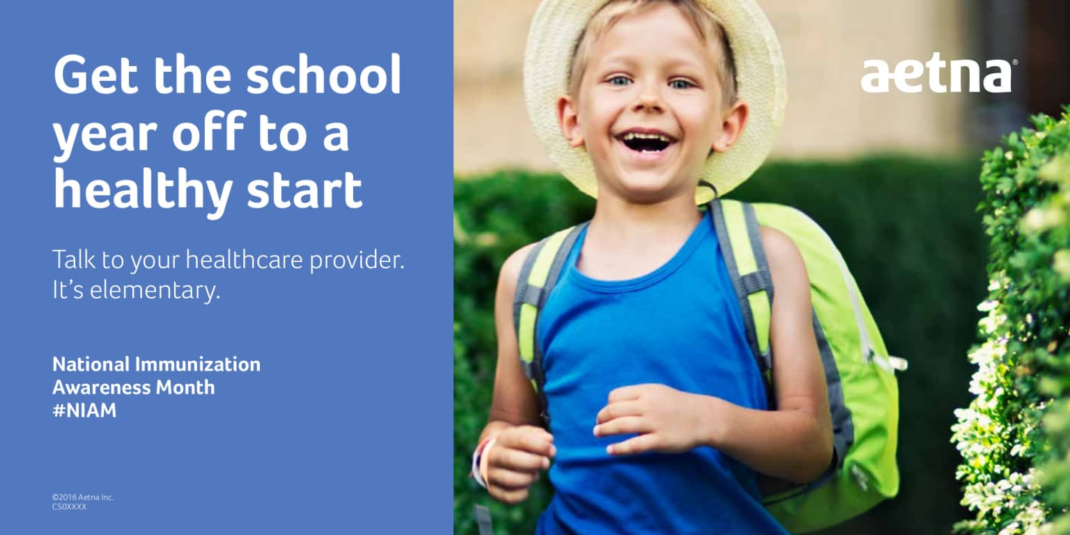 Aetna: Get the school year off to a healty start