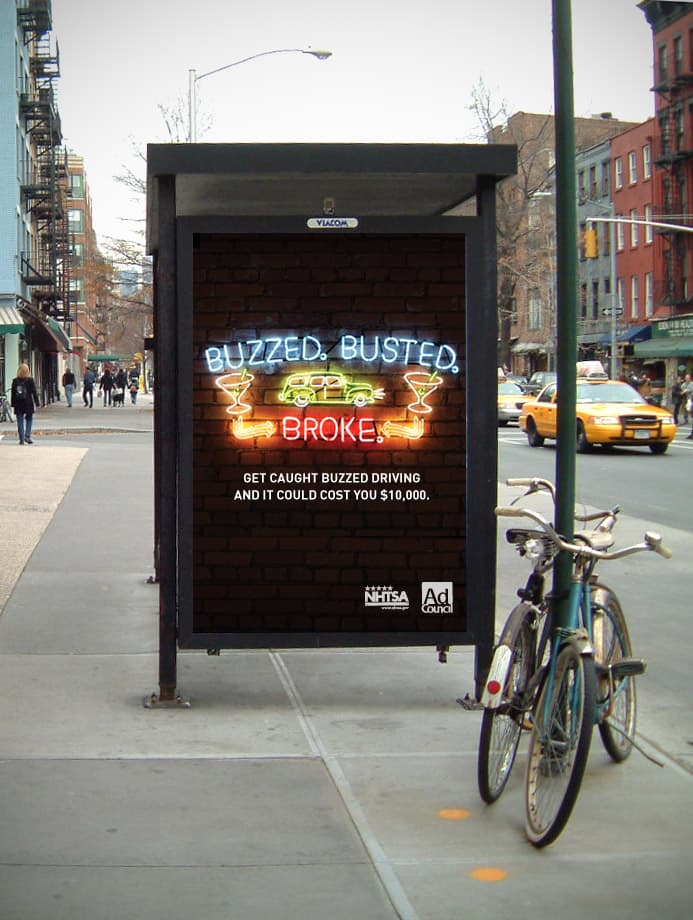 Ad Council Buzzed Driving