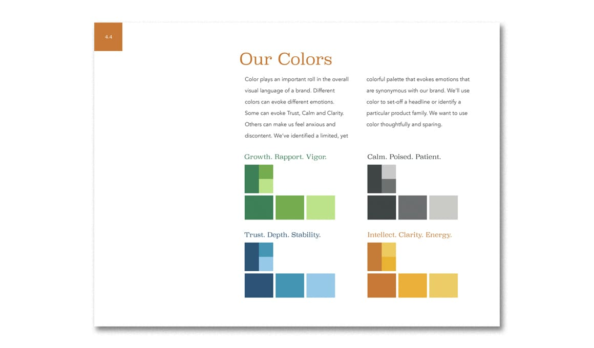 Bank of Tennessee, Brand Guidelines