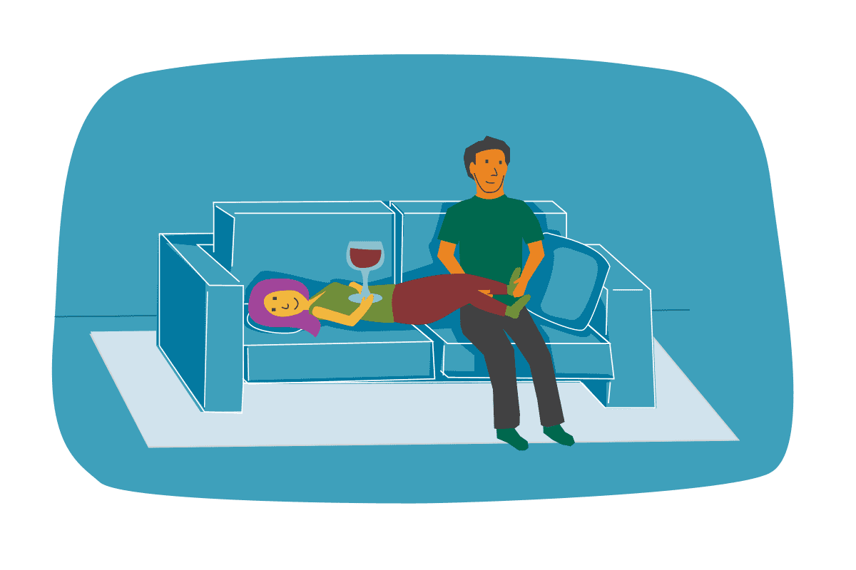 The Best TV-Watching Positions For Your Relationship