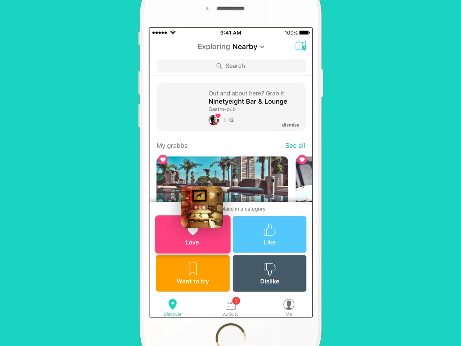 Grabbd, a foodie network for the best restaurants