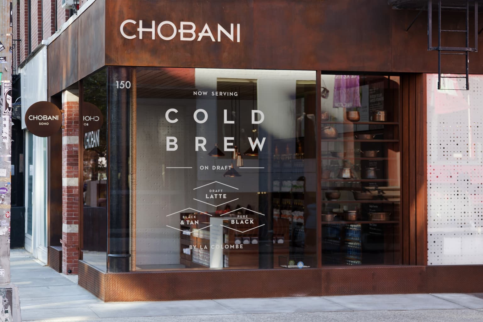 Chobani Soho Cafe Cold Brew Campaign