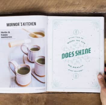 Makeable Print Ads