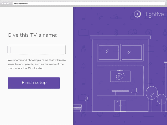 Highfive: Onboarding Experience