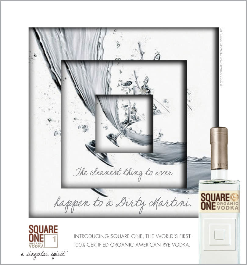 "Square One Organic Vodka: ""Branding and Launch"""
