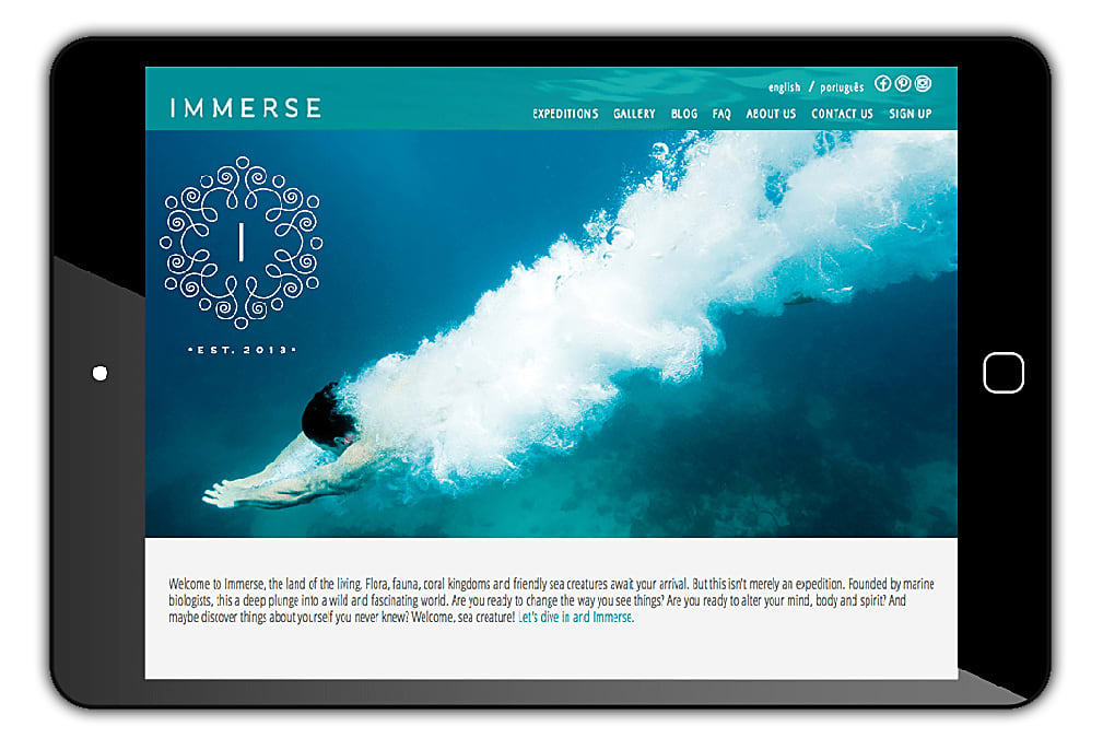 Integrated Campaign for Immerse Marine Expeditions, Brazil