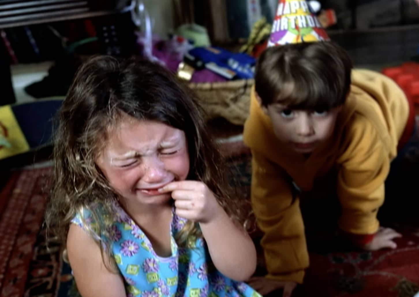Making kids cry for Microsoft's UltimateTV.