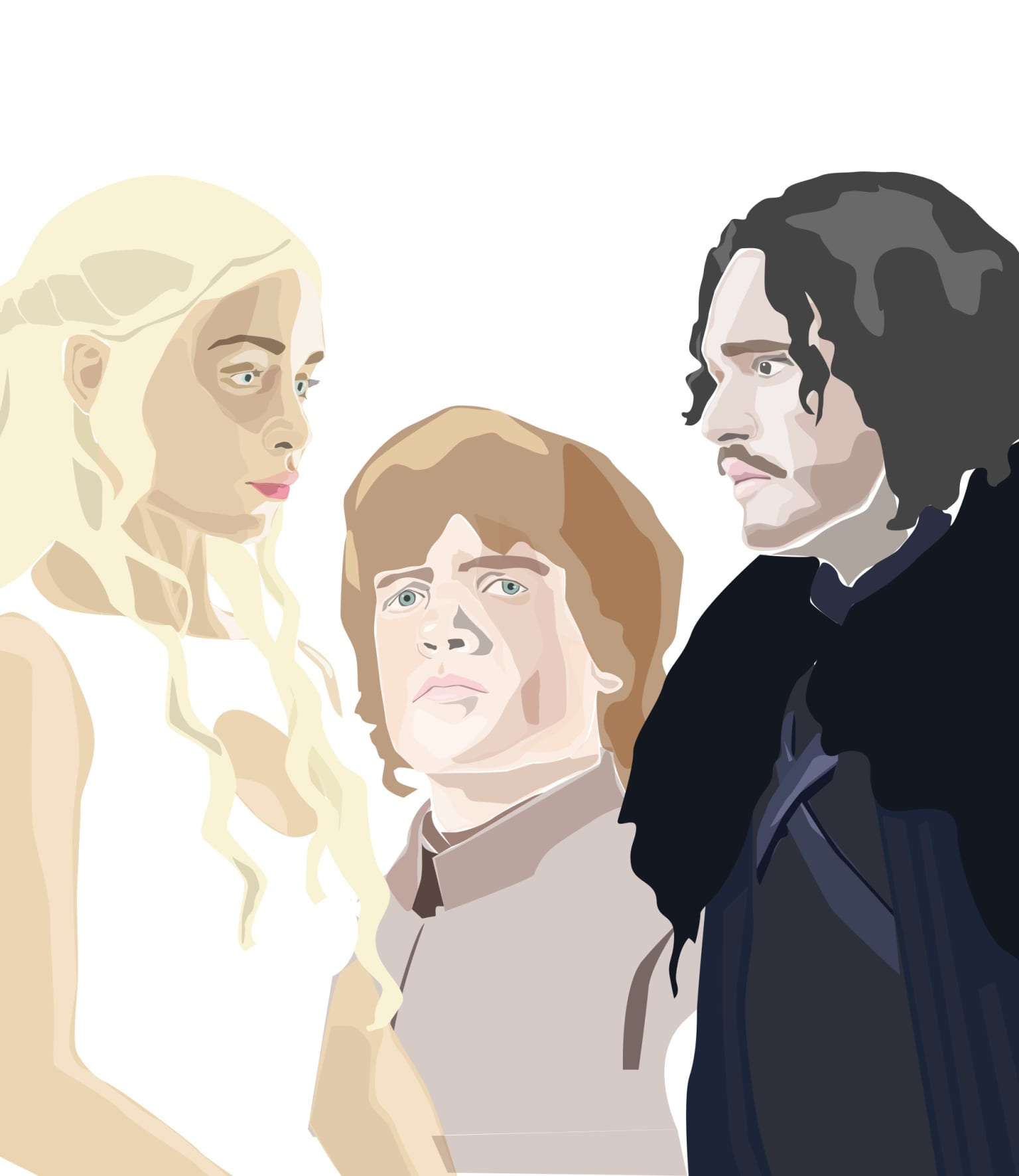 Game of Thrones Three Head Poster