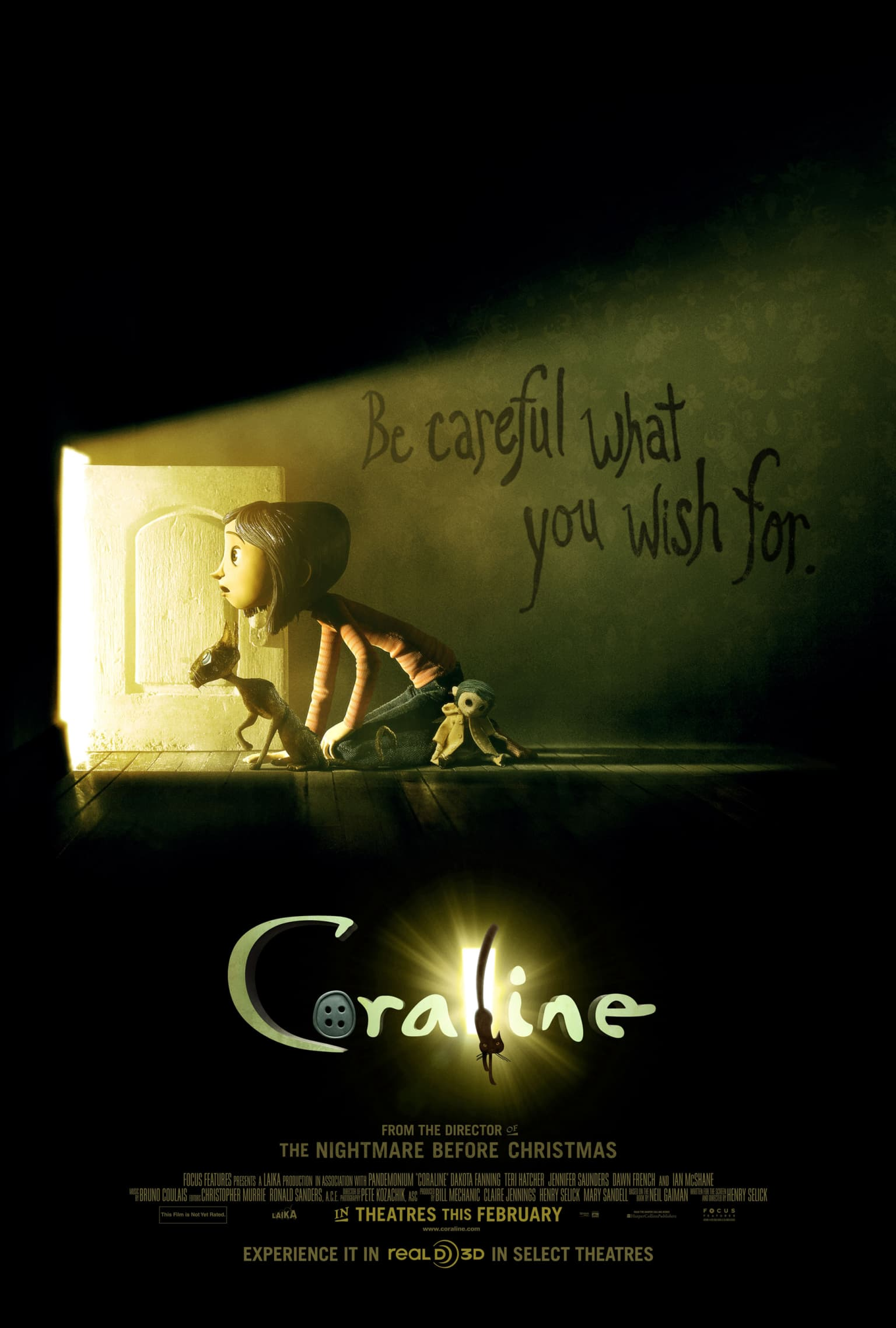Coraline Film Launch