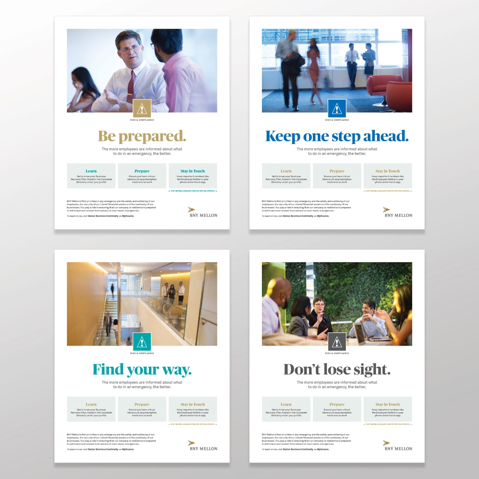 Risk & Compliance Poster Campaign