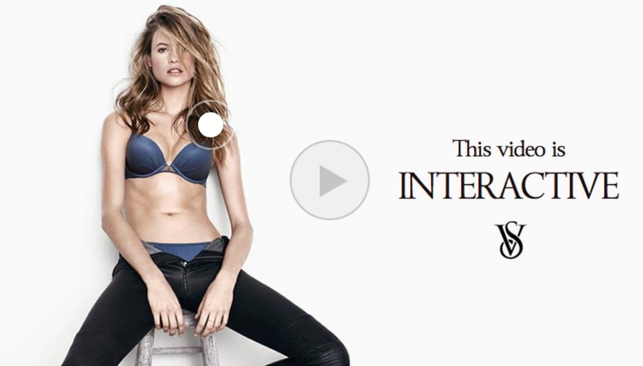 Victoria's Secret Interactive Video Ad