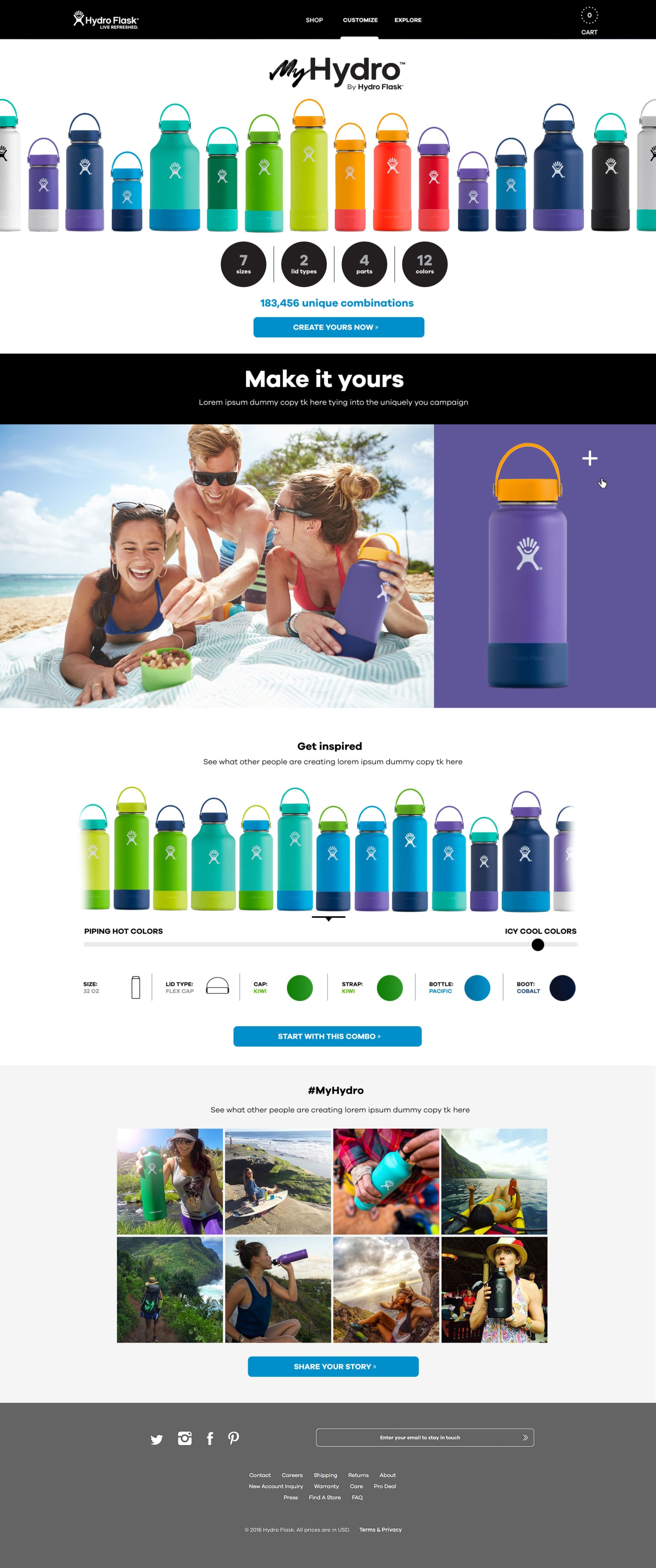 My Hydro product launch & website build