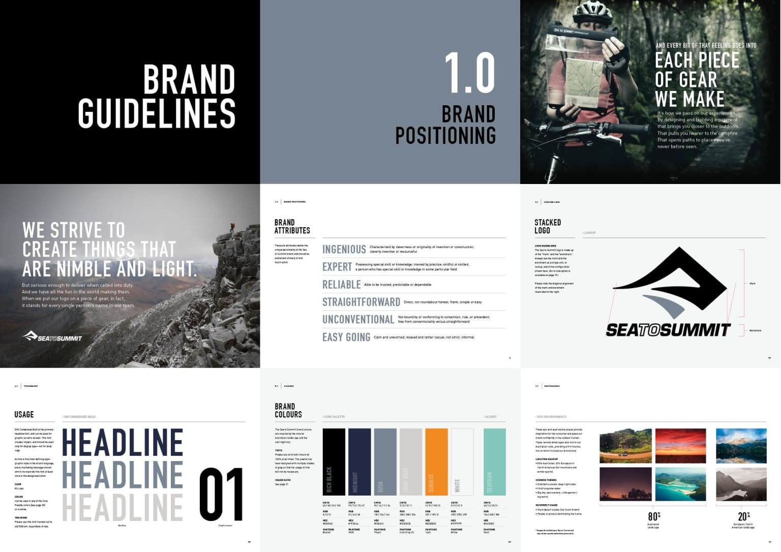 Sea to Summit Brand Guidelines