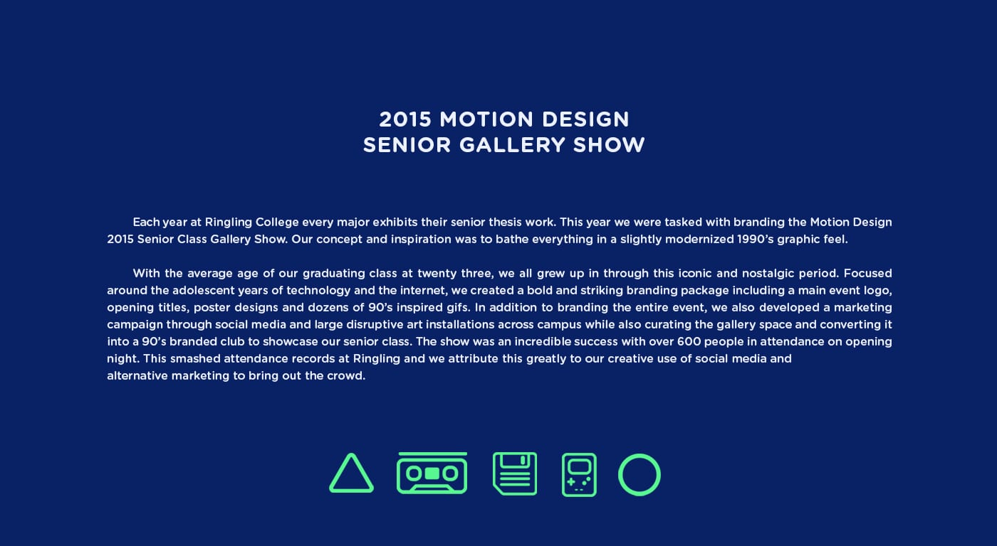 Motion Design Gallery Show