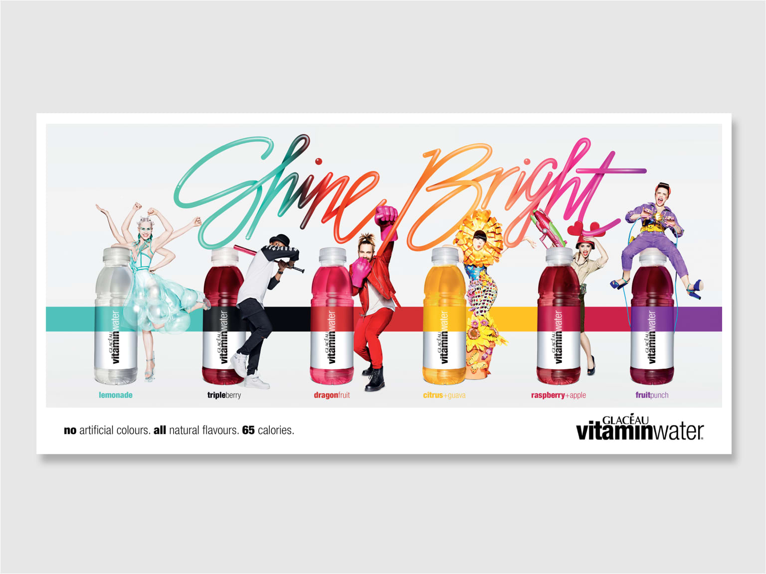 Glaceau vitaminwater #shinebright
