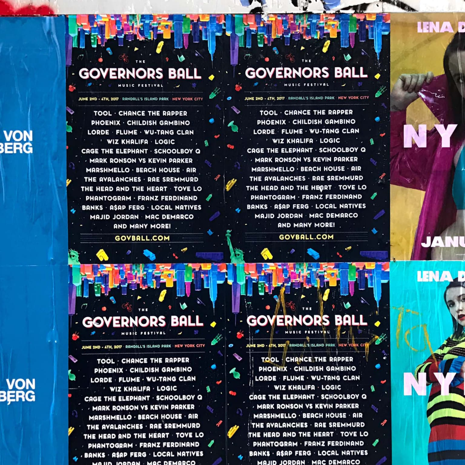 Governors Ball Identity