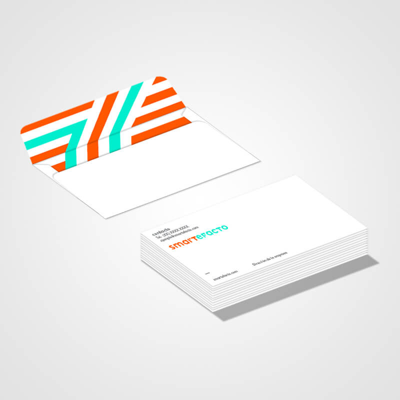 Colorful Business Envelope