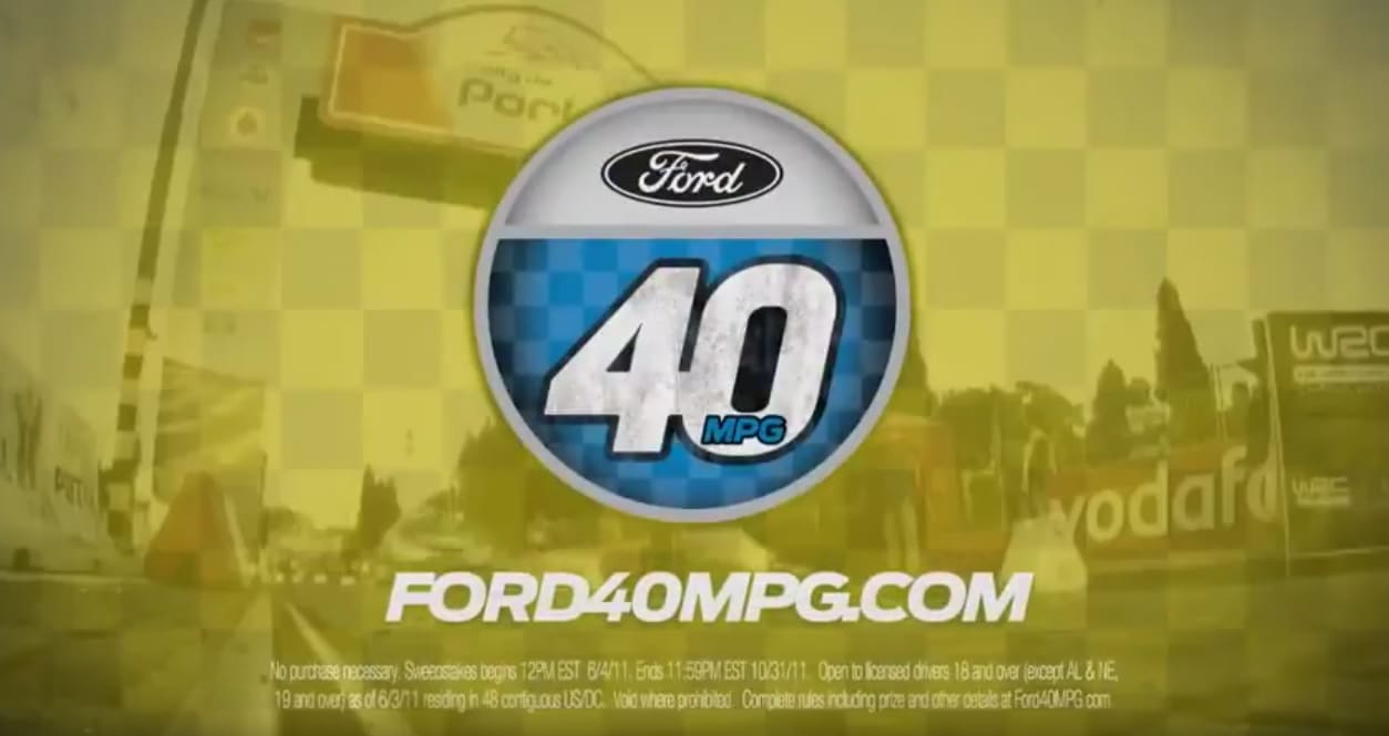 Ford Focus 40MPG Sweepstakes
