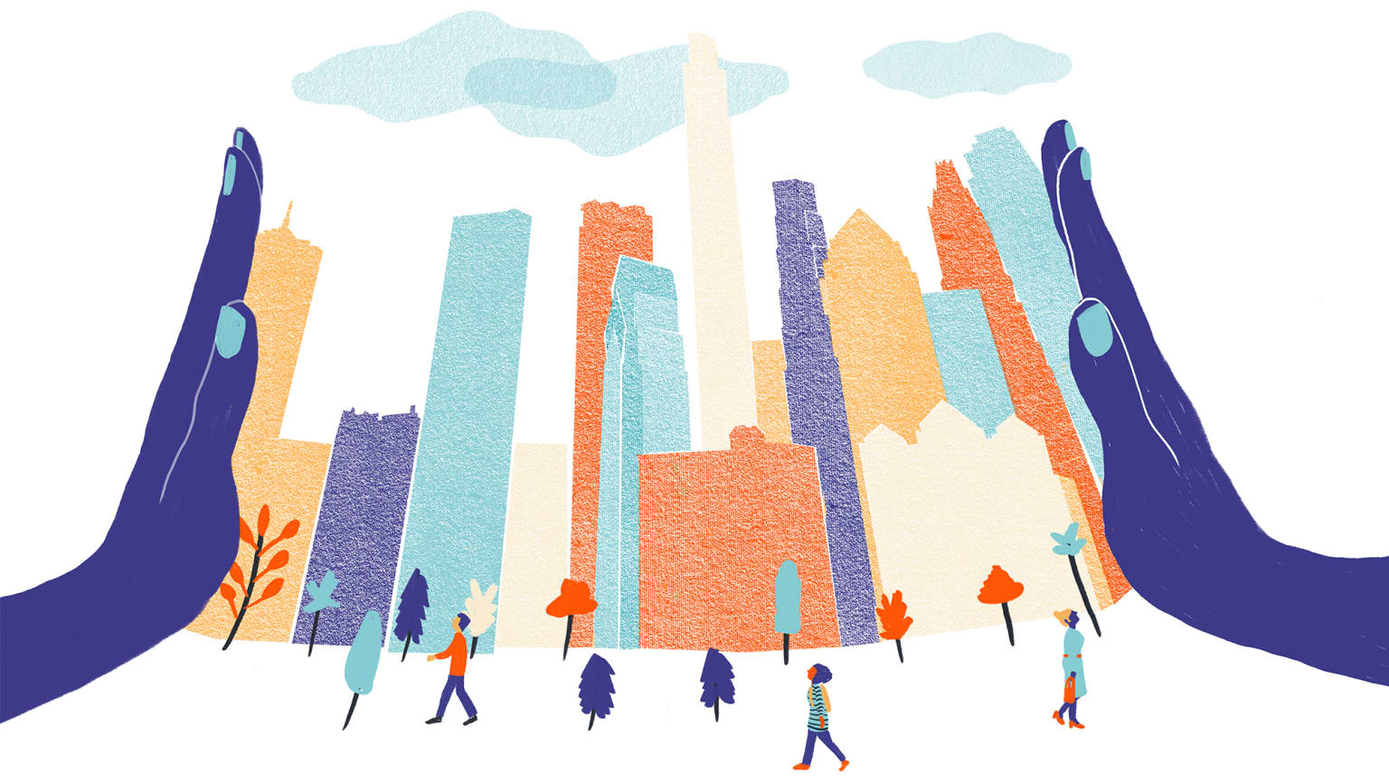 Illustration for curbed.com
