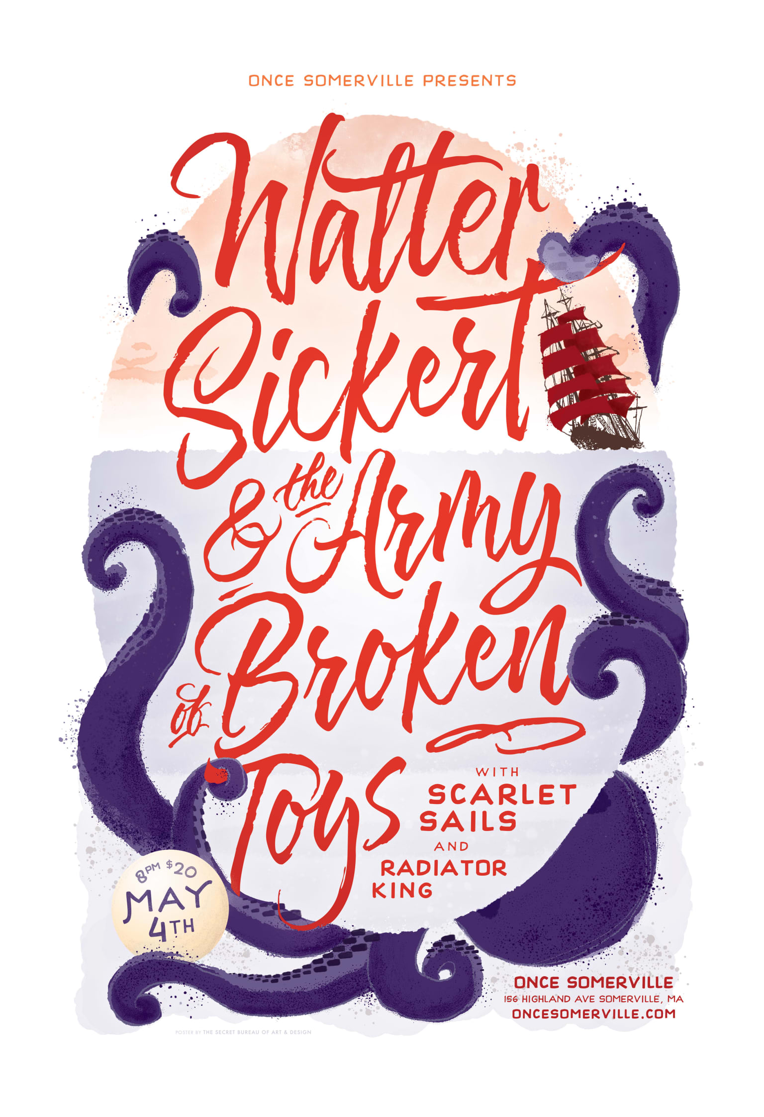 Poster for Walter Sickert & The Army of Broken Toys