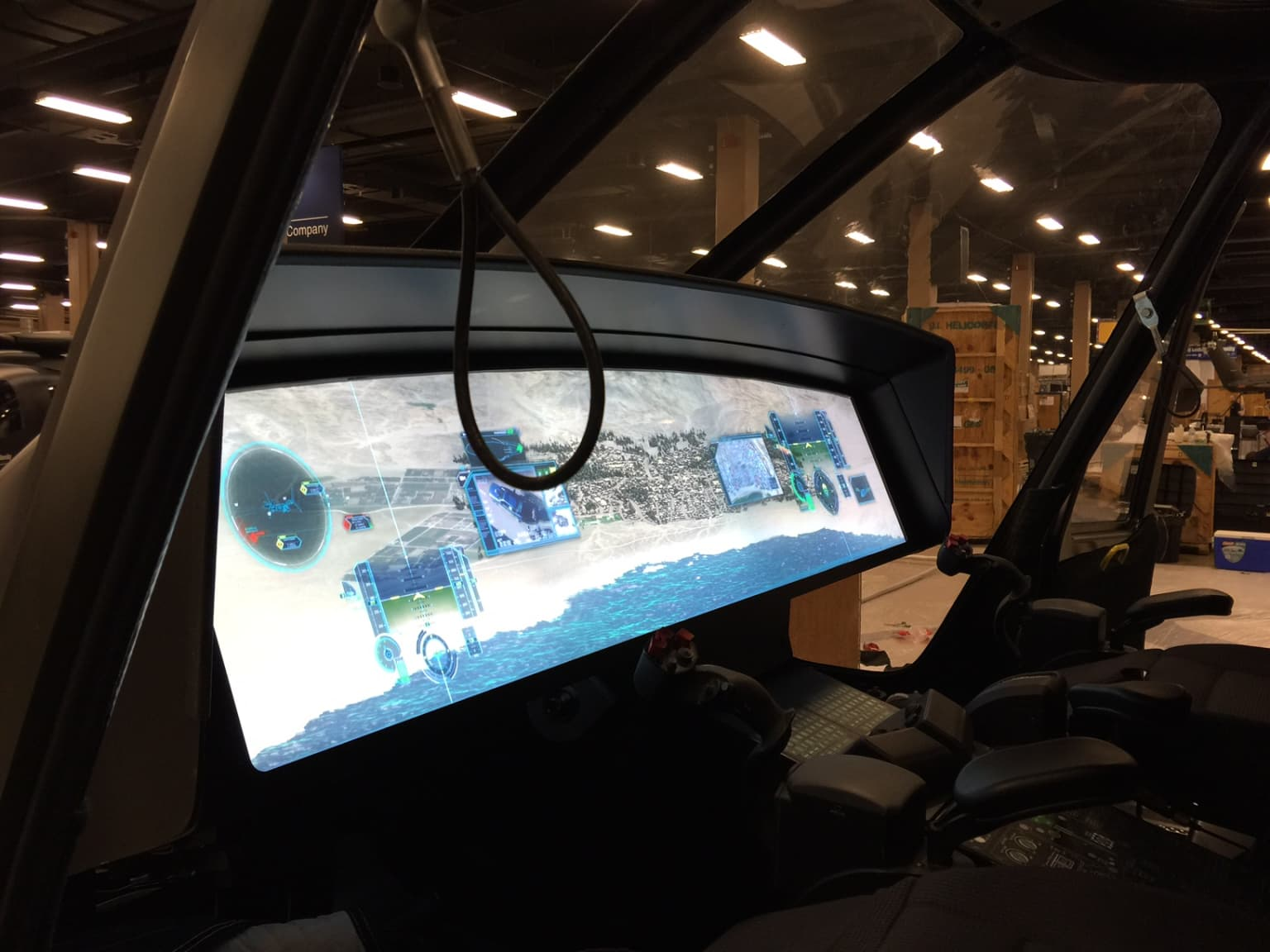 Custom Interactive Touch Screen