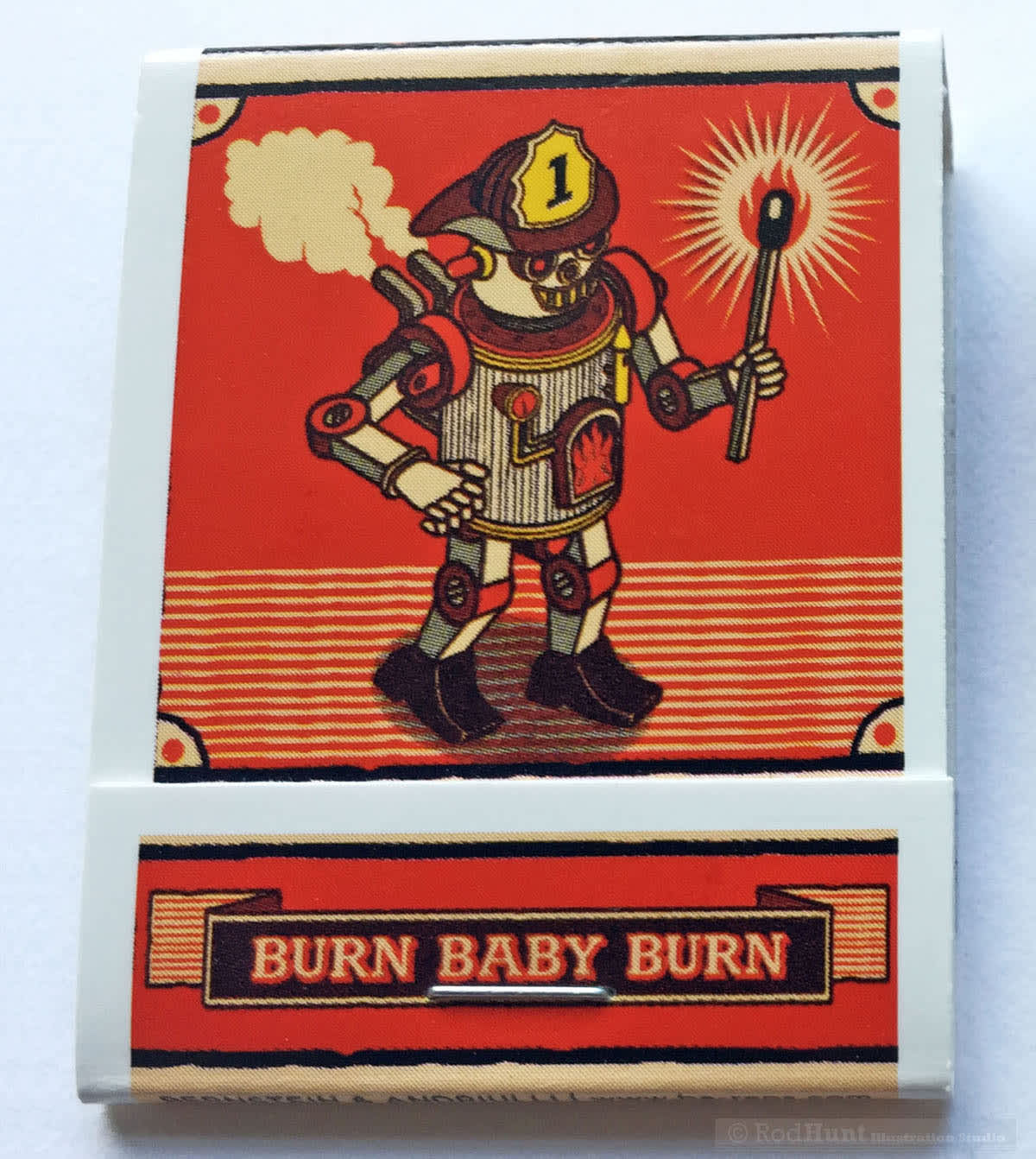 Burn Baby Burn! Illustrated Matchbook Project