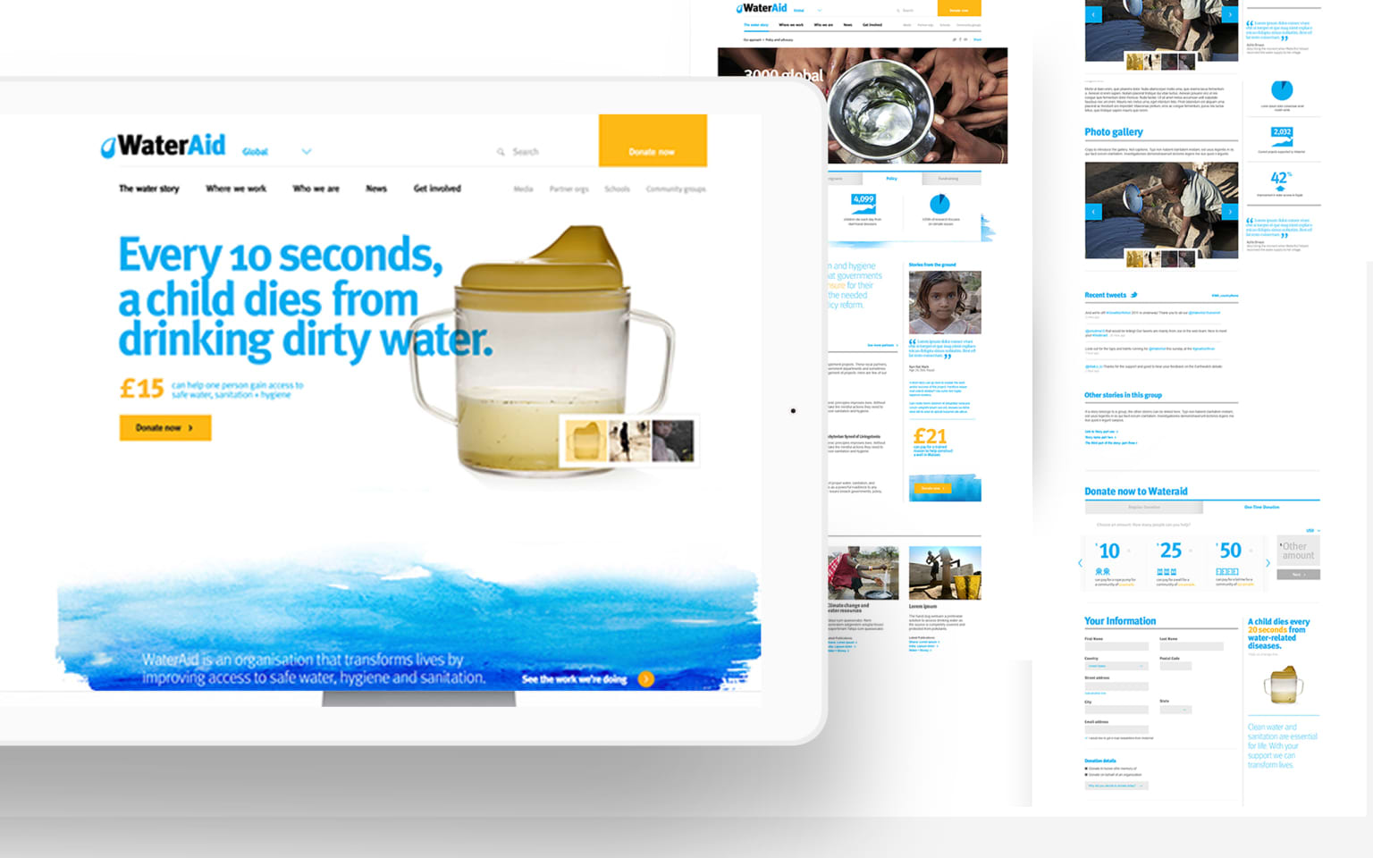 Water Aid Brand Refresh