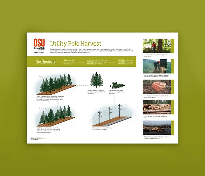 Informational Forestry Signage
