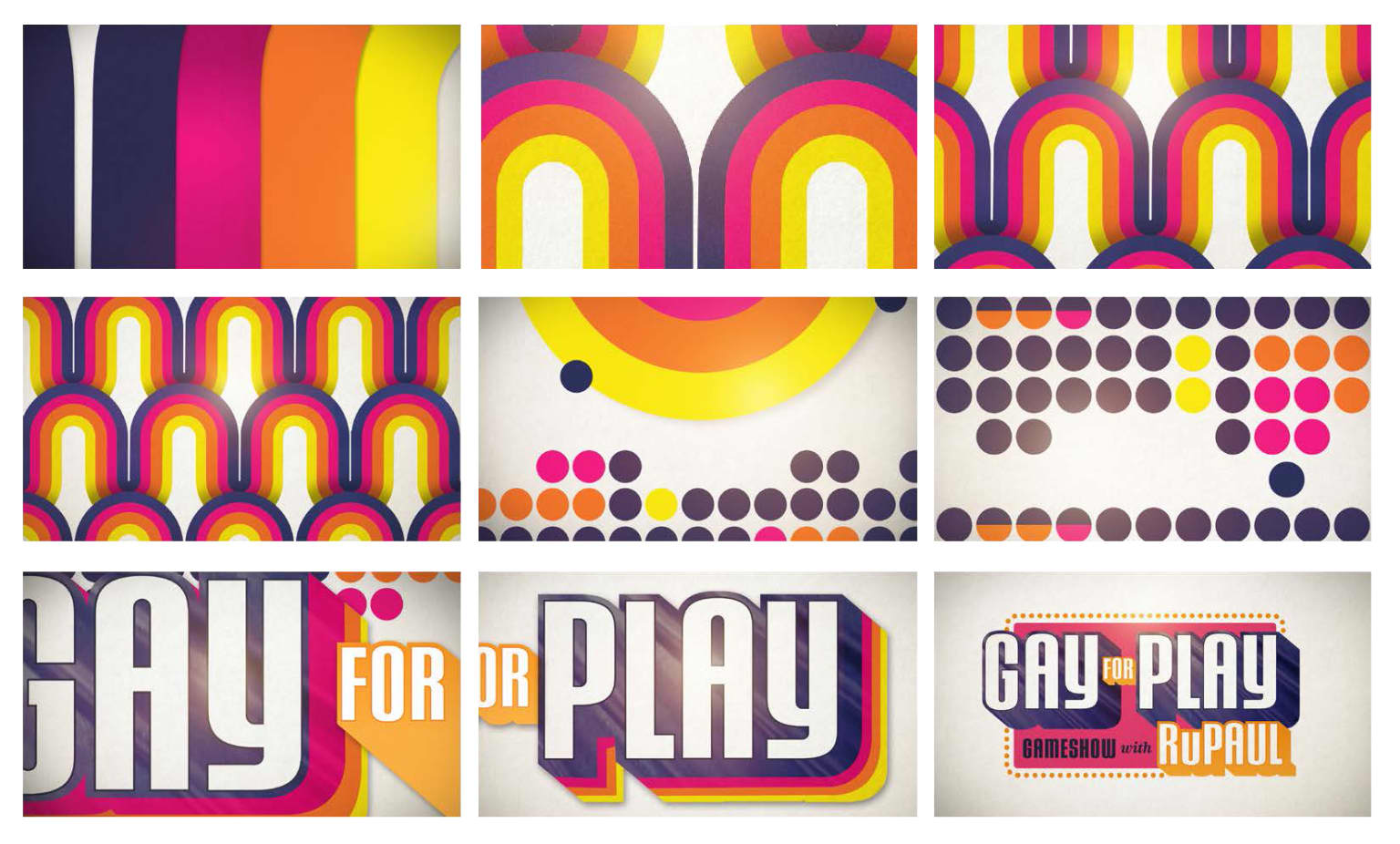 Key Art - Gay For Play Game Show starring RuPaul