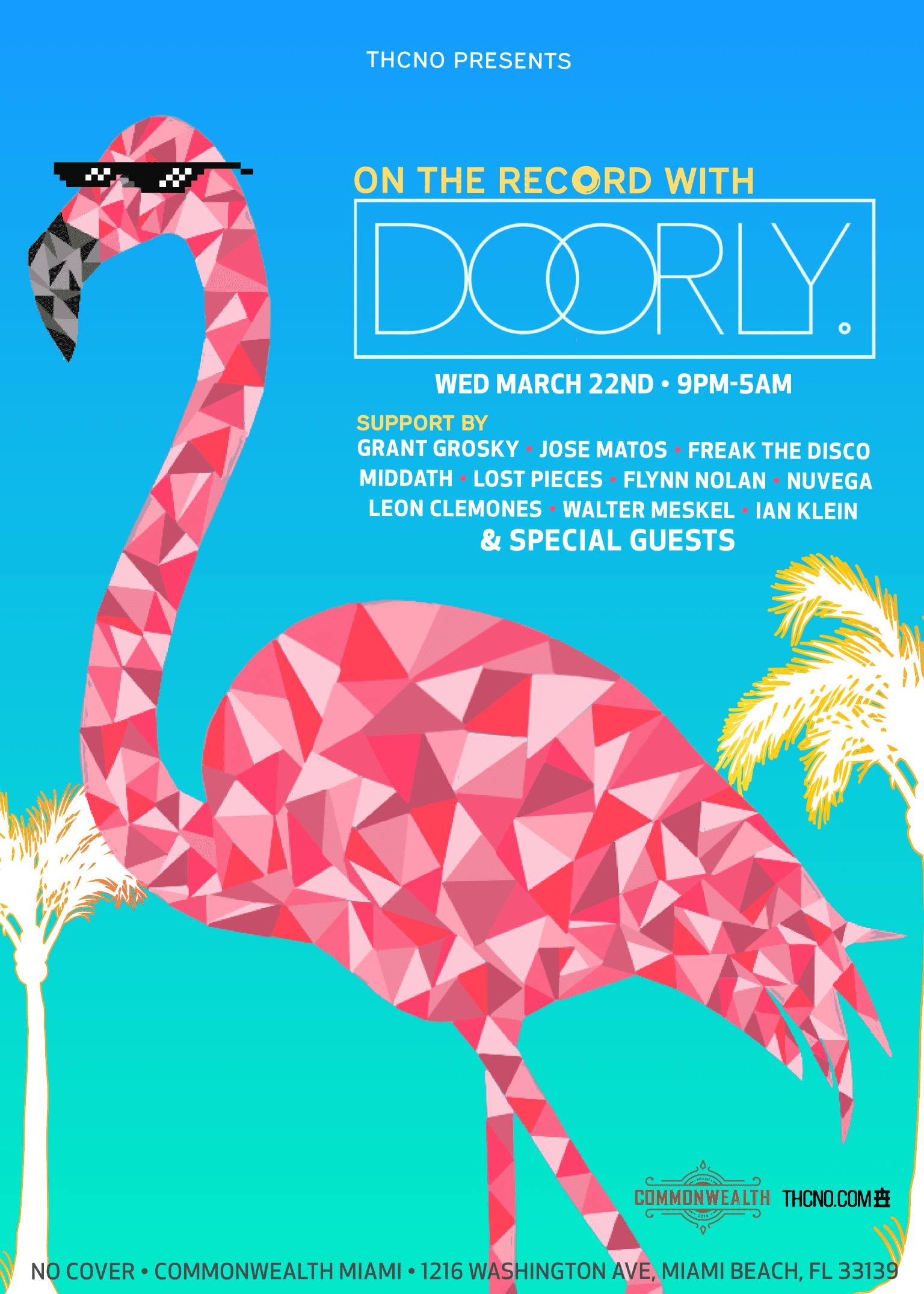 EVENT POSTER | On The Record with DOORLY