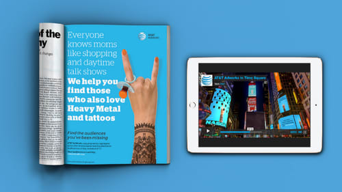 AT&T AdWork's Responsive Website and Campaign