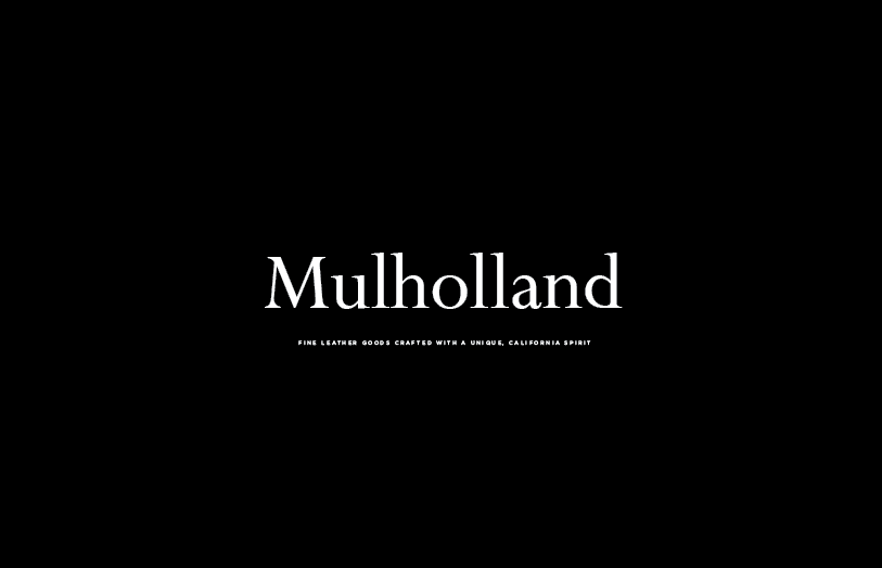 Mulholland Brand and Packaging Design