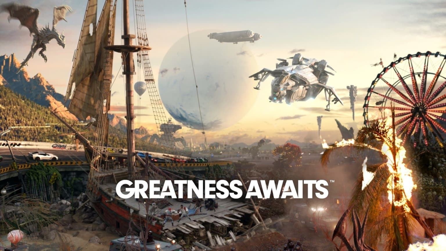 #GreatnessAwaits / PS4 Global Launch