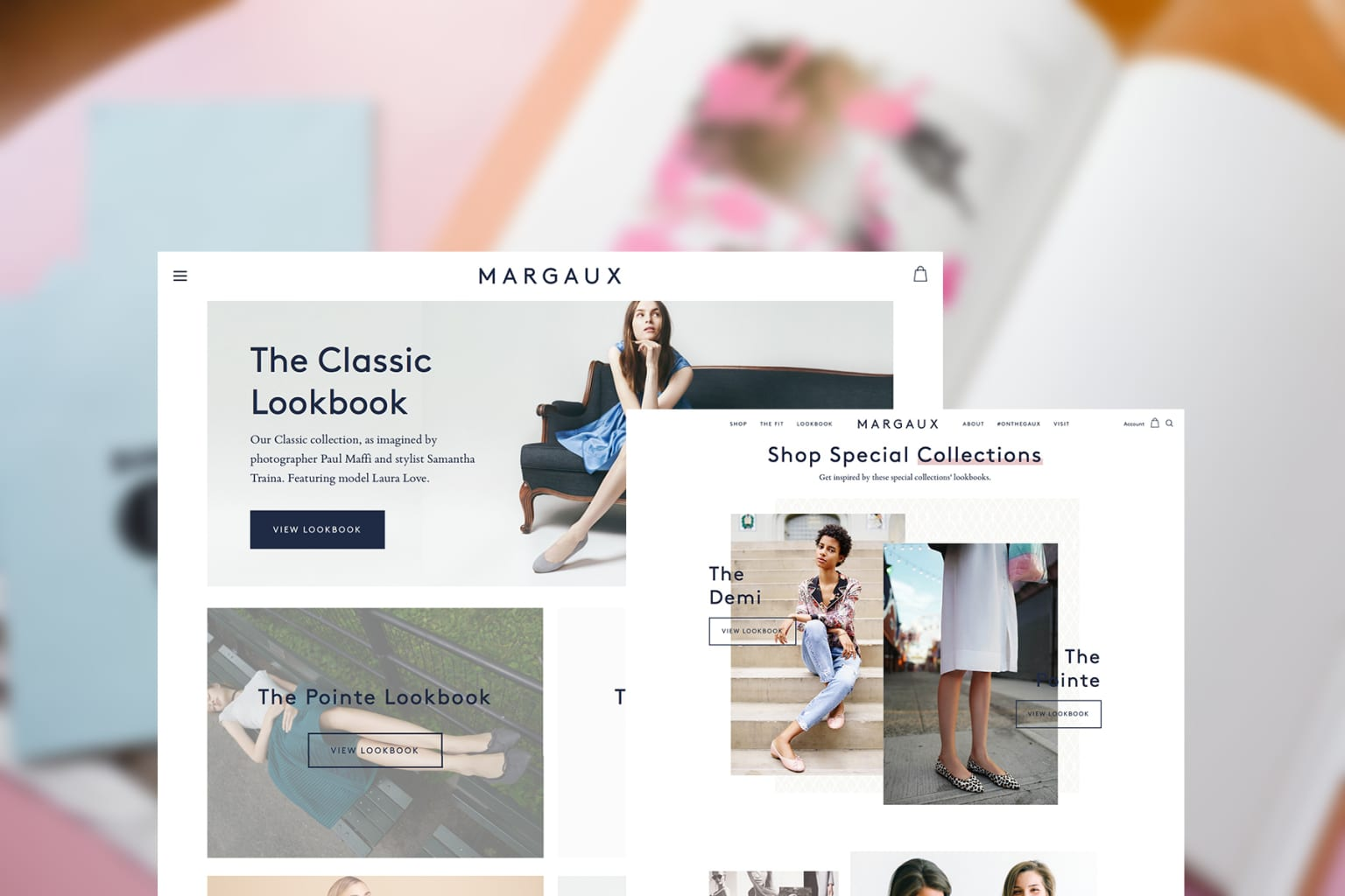 Margaux Site Redesign
